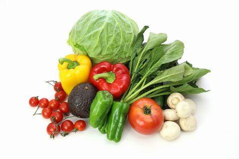 栄養たっぷりの新鮮な野菜たち