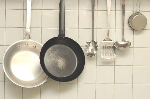 調理をするために整えられたキッチングッズ