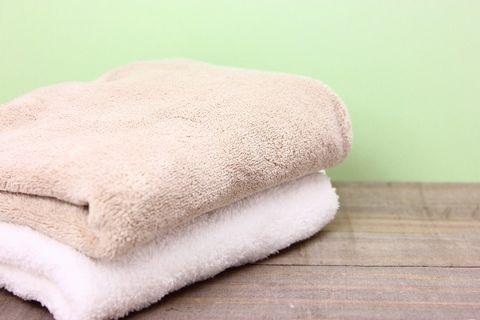 汗を拭くために持参するタオル