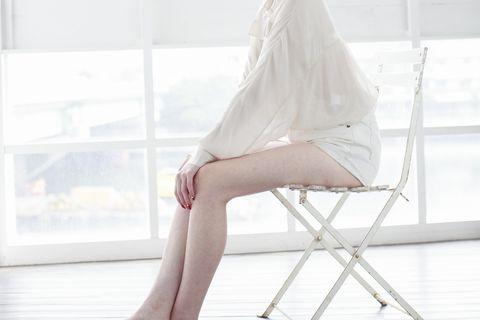 さっと取り出して座れる折り畳み用の椅子