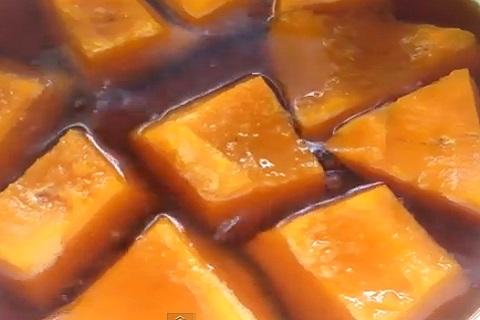 甘くてぽくぽくのかぼちゃの煮つけ