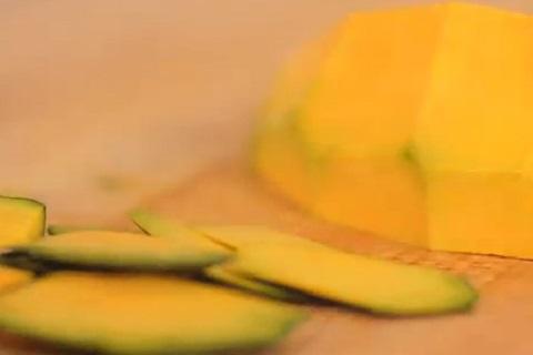 栄養満点なかぼちゃの皮