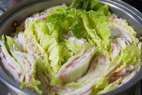 お肉と白菜のミルフィーユ鍋