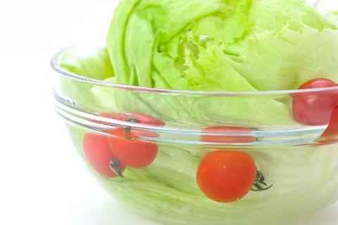 トマトとレタス