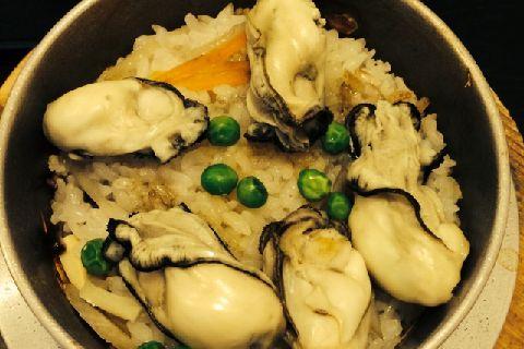 土鍋 牡蠣 ご飯 【飲み放題付】 牡蠣コース+牡蠣土鍋ご飯付き